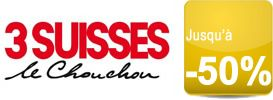 """Profitez vite des """"Promos de la rentrée"""" jusqu'à -50% chez 3 Suisses"""