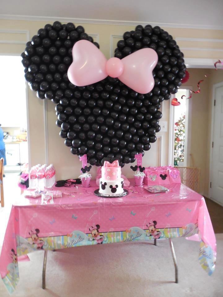 Decoração para Festa Infantil Minnie