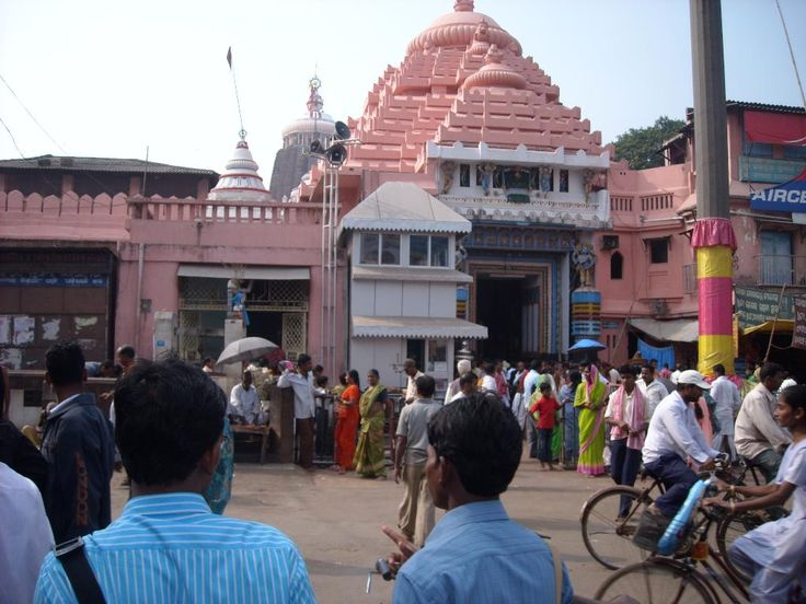 Jagannath temple, Puri.