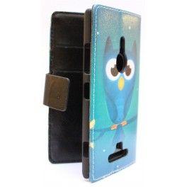 Lumia 925 pöllö puhelinlompakko