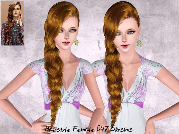 Underneath the Sims 3: Free Skysims Hair 047 - Requested