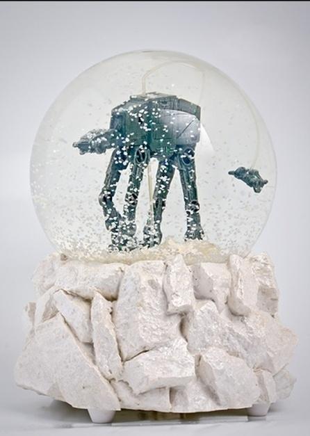 Rare Star Wars Snow Globe Imperial Walker