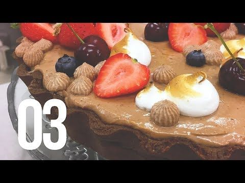 Sladká škola | 03 - ČOKOLÁDOVÝ TART | Lulus bakery - YouTube
