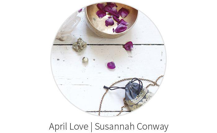 April Love met Susannah Conway