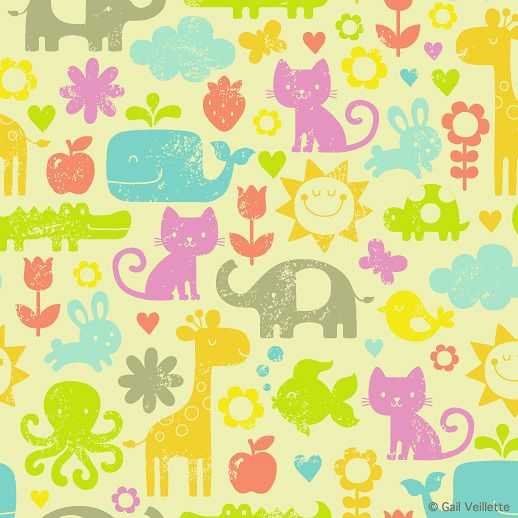 Gail Veillette   Pattern/Illustration