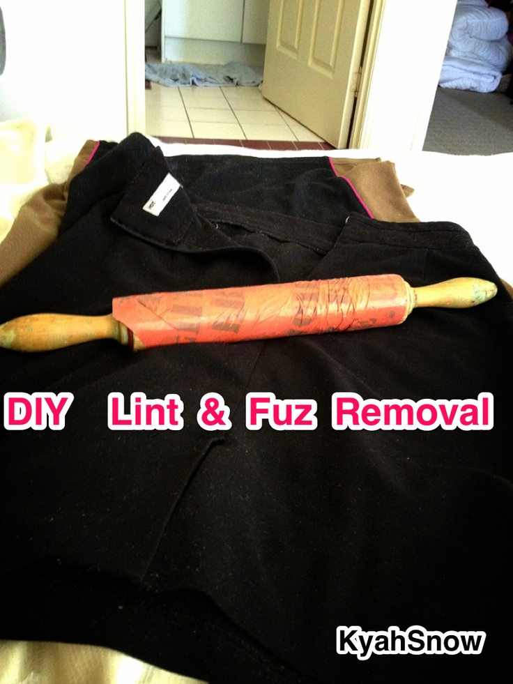 DIY lint remover! Thank me later! Not only is this cheaper ...