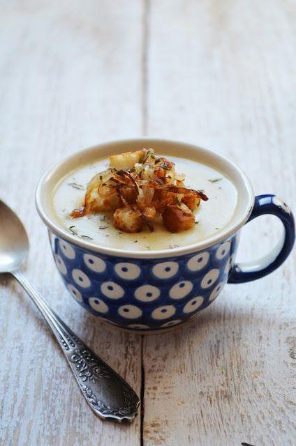 Kuchnia w zieleni: zupy i kremy zupa cebulowa