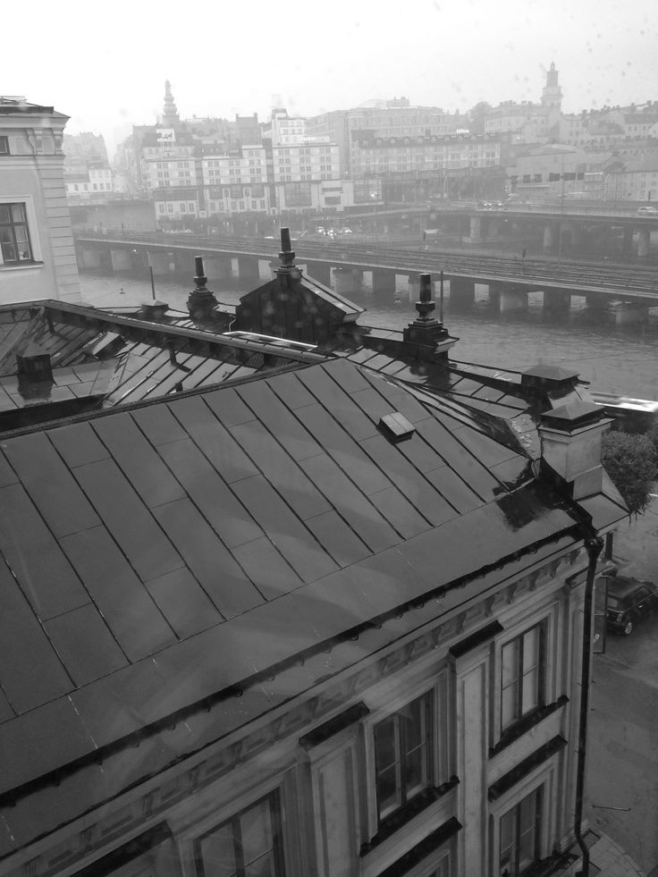 Regn över Gamla stan