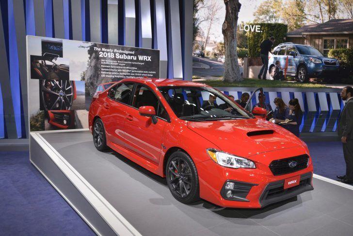 2018 Subaru WRX Red Price