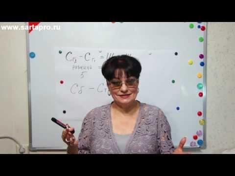 Анализ мерок урок 2 - Светлана Пояркова - YouTube