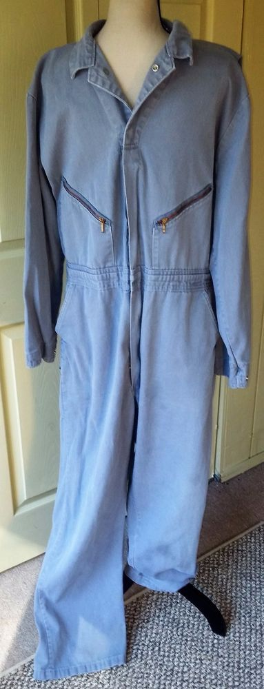 Walls VTG Men's Coveralls Jumpsuit One Pc~Sz 44 Tall~Medium Gray Jean~Mechanic | Clothing, Shoes & Accessories, Vintage, Men's Vintage Clothing | eBay!