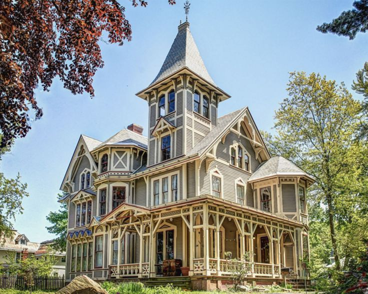 This Victorian Gothic masterpiece in New Haven, Connecticut proves the old adage, they just don't build 'em like this anymore. Known as Chetstone, the 4,355 sq. ft. home was recently restored with meticulous attention to detail.