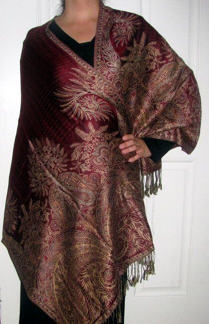 Upscale Pashmina Shawls - Many Colors