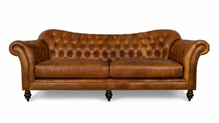 Our Lillington Chesterfield Leather Sofa is a beautiful execution of gentle curves and graceful tufting, and just as comfortable as it is elegant.