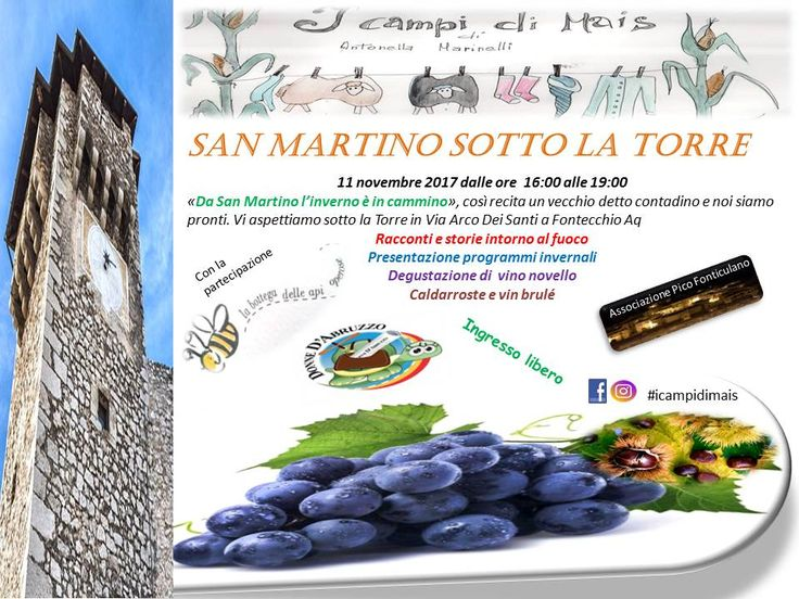 San Martino under the tower: roasted chestnuts and new wine, smiles and good company :)