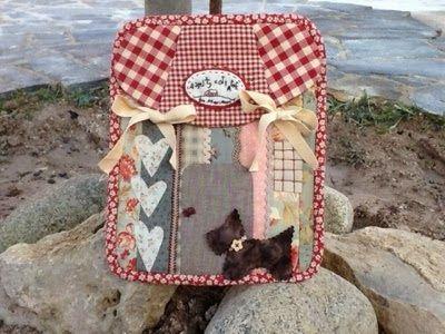 Mimi's Cottage: Funda para tablet  Precio kit completo: 36€