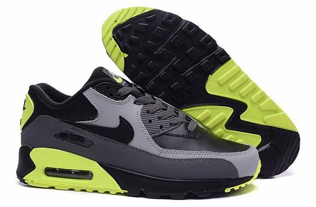 purchase cheap 3678a c881a nike air homme,homme air max 90 noir et gris et verte