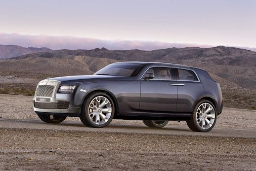 With the launch of this new car, Rolls-Royce will be following the trend shown by other luxury carmakers.