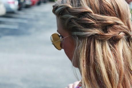 : Braids Hairstyles, Waterf Braids, Summer Hair, Haircolor, Long Hair, Double Braids, Hair Style, Side Braids, Hair Color