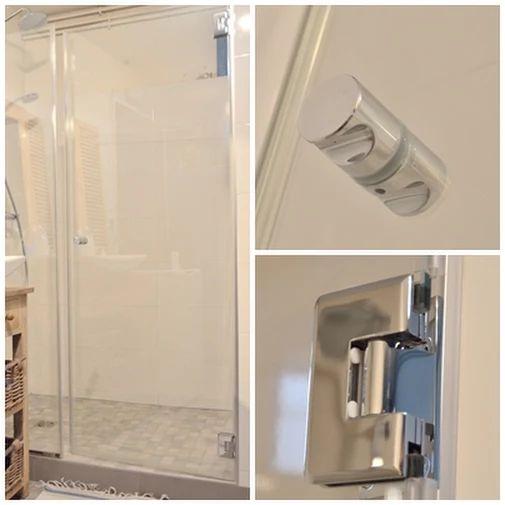 38 best porte de douche en verre sur mesure images on pinterest glass shower doors glass. Black Bedroom Furniture Sets. Home Design Ideas