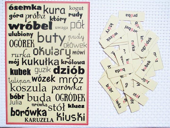Wypatrywanka Bystre Oczko Ortograficzna O U 7585211853 Oficjalne Archiwum Allegro Education Words Word Search Puzzle