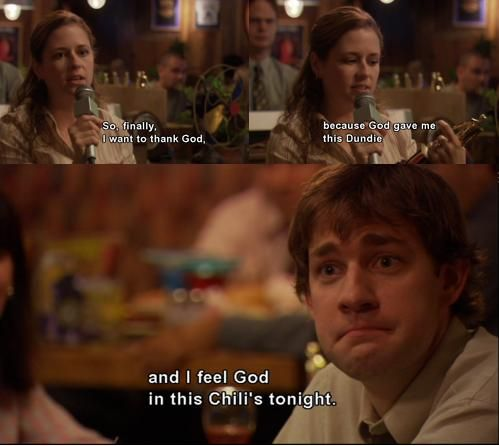 best pam quote of all time. ALL TIME.