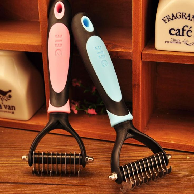 Hair Removal Combs Dog Long Hair Thick Hair Professional Comb Cut Stainless Steel Combs Open Hair-Knot pet Grooming tool M-011