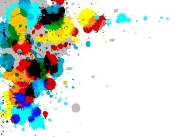 Paintball Splatter Backgrounds Paint Splatter Clip Art