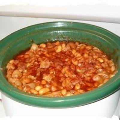 Slow Cooker Baked Beans #wow