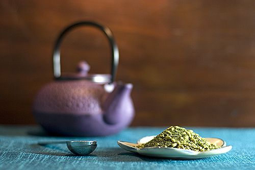 Try some of our Imperial Matcha Genmaicha Green Tea!