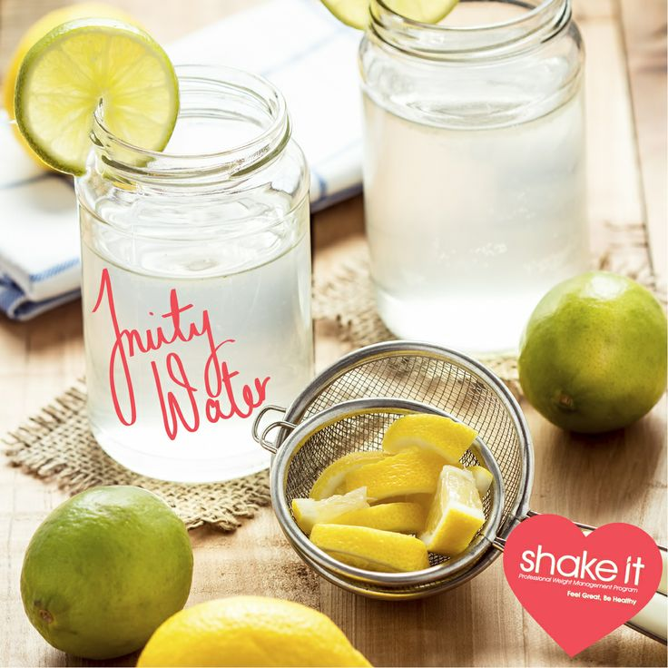 Shake It Tip: Drink naturally flavoured water instead of soft drink, juice or alcohol.  www.shake-it.com.au