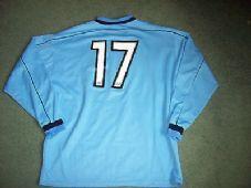 2001 2002 Forfar Athletic Match worn #17 L/s Football Shirt Top Scotland