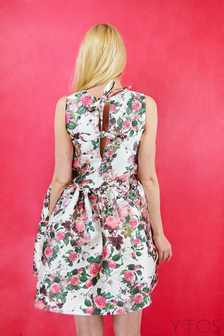 Yfos Online Shop | Clothes | Dresses | Lilies Mini Dress by Milkwhite