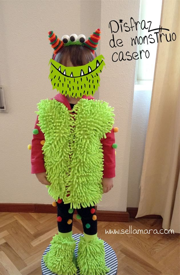 Disfraz de monstruo para niño / Baby Monster costume