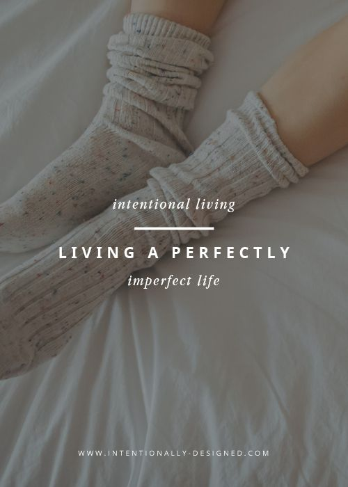 What does it mean to be perfect; to have the perfect life? Does it mean to  have a beautiful home, well-behaved kids, and your dream job? Does it mean  having thousands of followers and perfectly coordinated Instagram squares?  After chasing perfect for way too long and being exhausted, overwhelmed,  and burnt out, I realized something: I already have the perfect life.