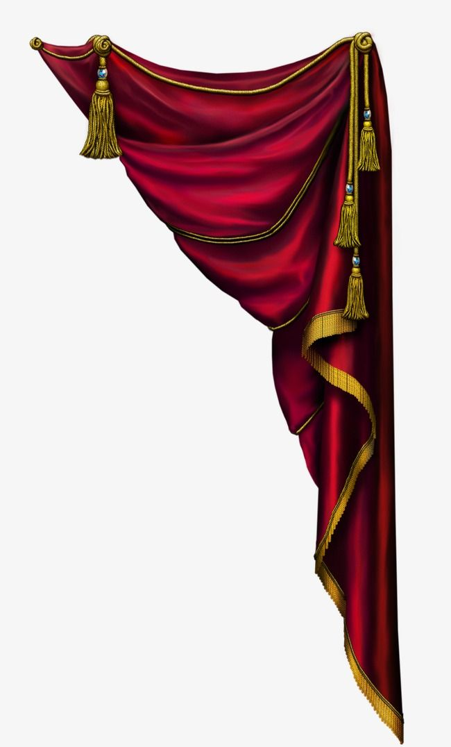 Curtain Drapes Stage Curtain Png Transparent Clipart Image And