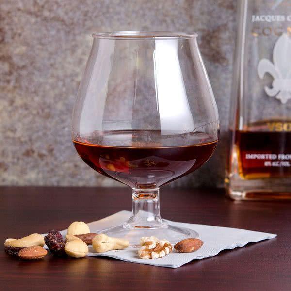 GET BRA-2 16 oz. Plastic Brandy Glass