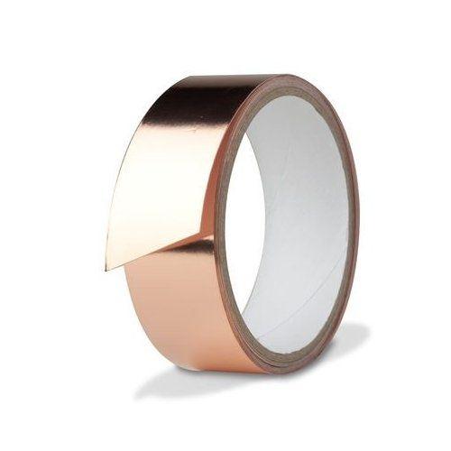 rose gold (copper) tape #home #decor