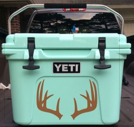 This is listing is for ONE Yeti Roadie Cooler Decal ONLY  This Listing does NOT include a Yeti Cooler. Please choose your decal size from the