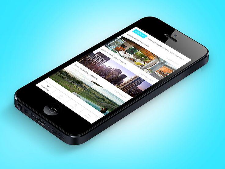 JetLag - Travel App Concept by Corey Michaud
