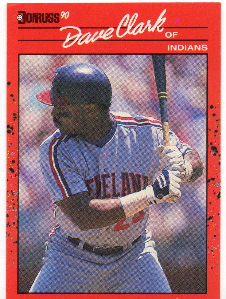 For Sale 1990 Donruss Baseball Card 492 Dave Clark Bb277 Webstore Baseball Cards Baseball Baseball Cards Worth