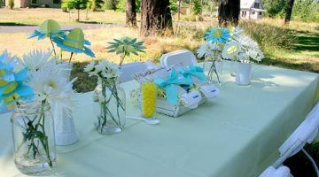 Baby Shower Table Decorations Outdoor Baby Shower Ideas Baby