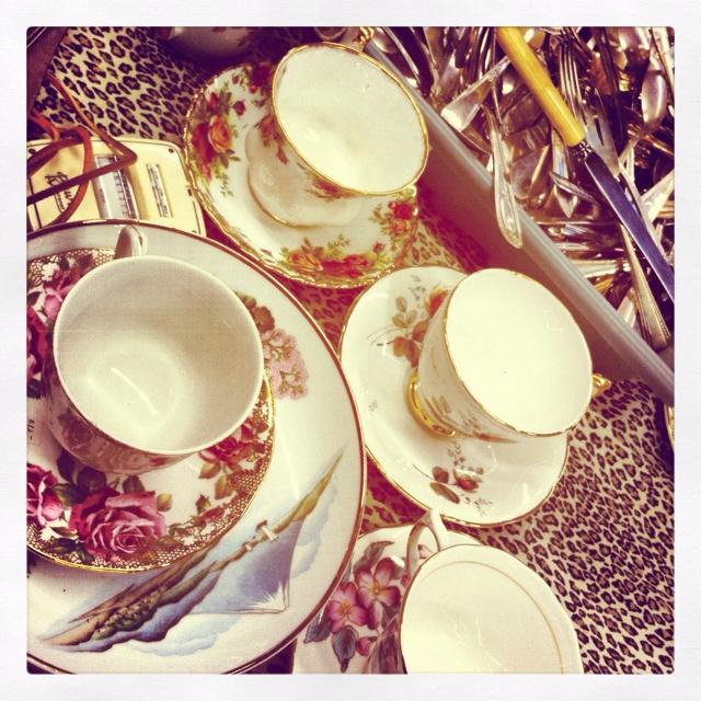 vintage tea cups: Vintage Tea Cups, Style, Teas, Art, Photography