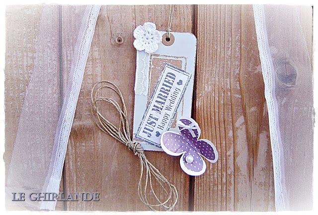 Le Ghirlande: Ghirlanda per nozze in lilla