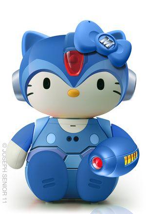 The Hello Kitty Dolls of Your DreamsHello Kittyyi, Art Gallery, Helo Megakitti, Hello Megakitti, Hello Kittywh, Kitty Collection, Mega Man, Hellokitty, Kitty Megaman