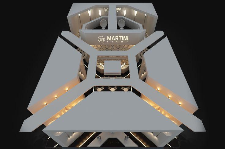 """Дизайн выставочного стенда компании """"MATINI Light"""" (400 кв.м.) - Дизайн-студия ICON"""