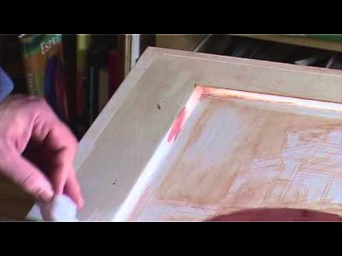 ▶ Gold on the icons with clay - 1 Preparation of the Armenian Bole - YouTube