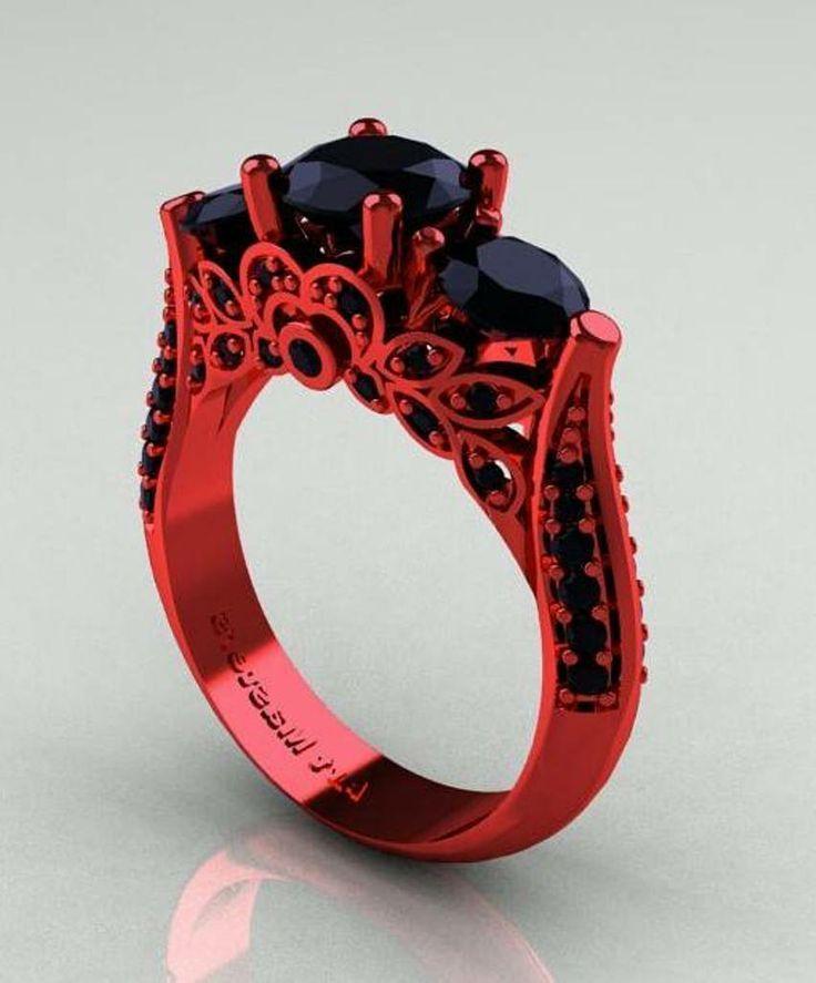 Unique Gothic Wedding Rings | FashionateDesires.Com Fashion Center ...