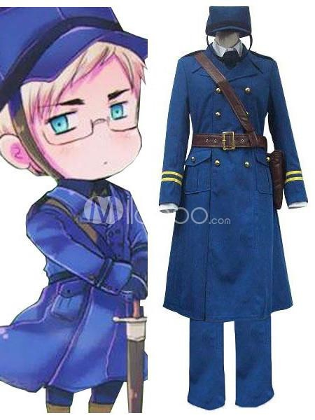 Axis Powers Sweden Berwald Oxenstierna Cosplay Costume. Make you the same as Berwald Oxenstierna in this Axis Powers cosplay costume for cosplay show.. See More Axis Powers Hetalia at http://www.ourgreatshop.com/Axis-Powers-Hetalia-C825.aspx