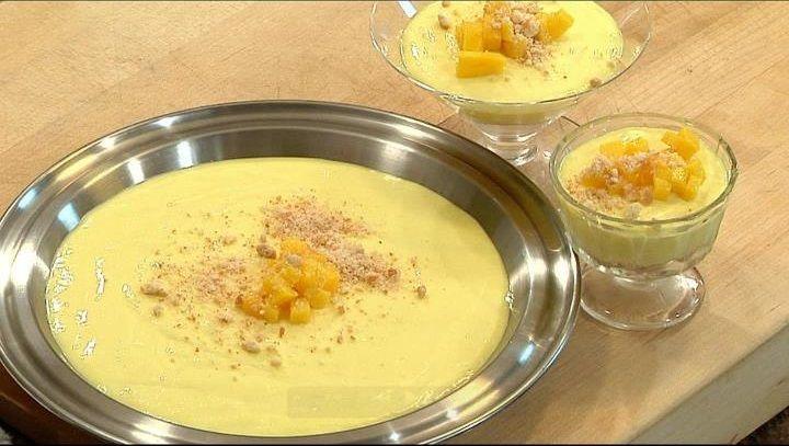 Cocina a lo Boricua: Cheesecake de mango sin hornear del Chef Piñeiro